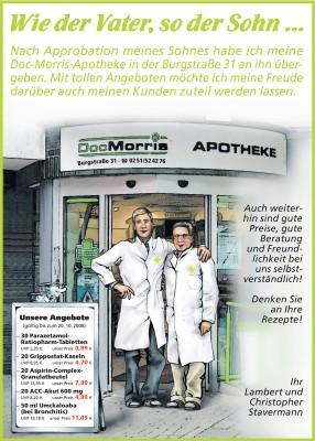 HALLO, DocMorris Anzeige (14.09.2008)