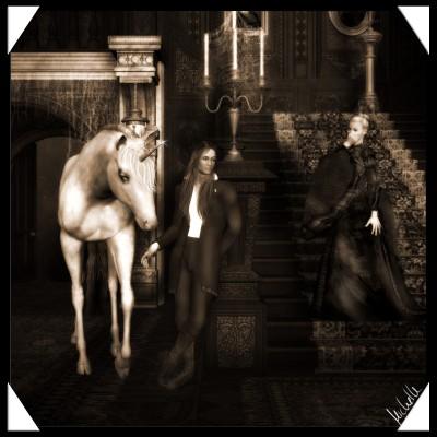 Horse in the Hall von Michelle